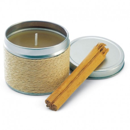 Dekoračná sviečka s vôňou škorice