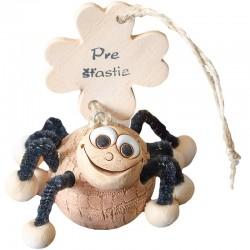 Rolnička pavúk pre šťastie