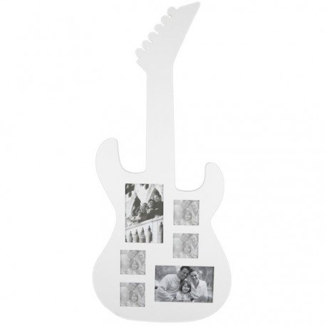 Fotorámik červená gitara na stenu