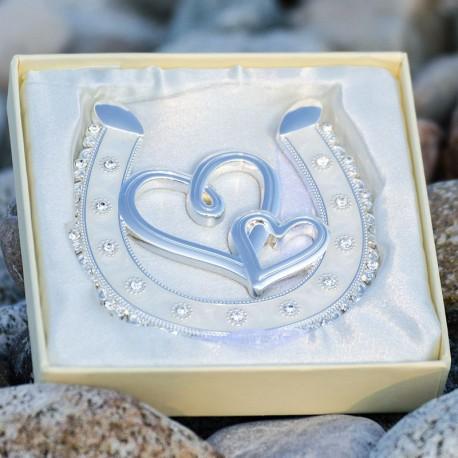 Podkova pre šťastie s ornamentom