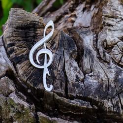 Otvárač na fľaše pre hudobníka - husľový kľúč
