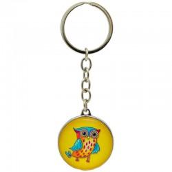 Prívesok na kľúče sova