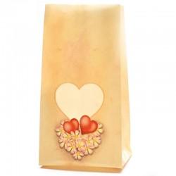 Sladký balíček z lásky so srdiečkom