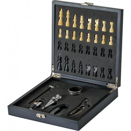 Set na víno so šachom