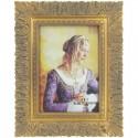 Strieborno zlatý fotorámik 13 x 18 cm