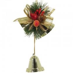 Vianočná dekorácia na zavesenie - červená