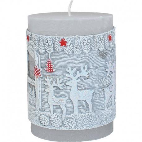 Vianočný stromček - sviečka s LED diódou