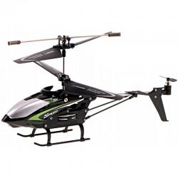 Vrtuľník na diaľkové ovládanie - čierna, zelená