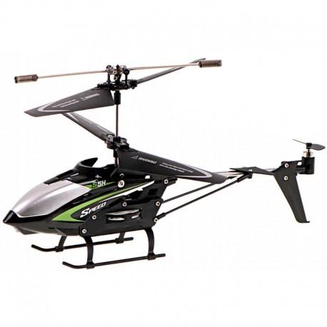 Vrtuľník na diaľkové ovládanie - čierna, červená