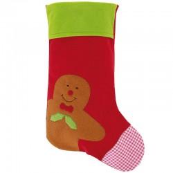 Veľká Mikulášska ponožka s perníkovým mužíčkom
