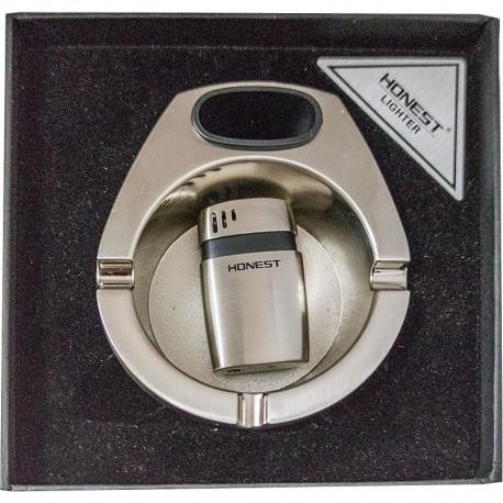 Luxusná kazeta zapaľovač, popolník