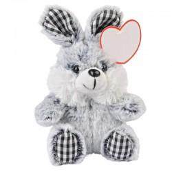 Zaľúbený zajačik so srdiečkom