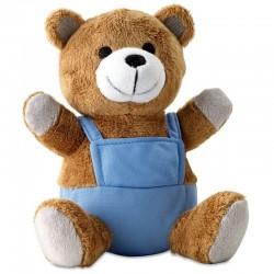 Medvedík s modrým tričkom