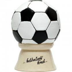 Pokladnička v tvare futbalovej lopty