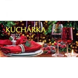 Stolový kalendár Kuchárka 2022