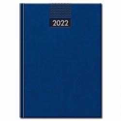 Týždenný manager diár modrý 2022