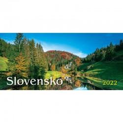 Stolový stĺpcový kalendár Slovensko 2022