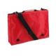 Červená taška na dokumenty