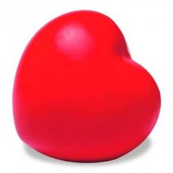 Červené antistresové srdiečko