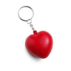 Antistresový prívesok na kľúče srdce