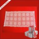 Ručne pletený obrus obdĺžnikový