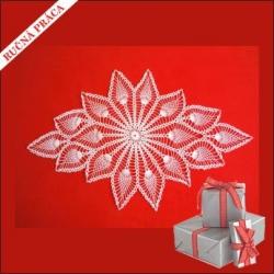 Darček pre ženu - ručne vyrobený obrus