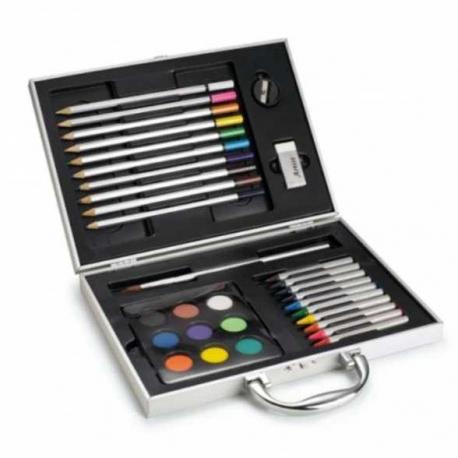 Sada na maľovanie v kovovom kufríku