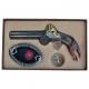 Imitácia zbrane - zapalovač, popolník, prívesok na kľúče