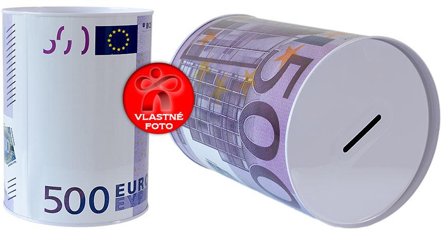 Detail na pokladničku 500 EUR