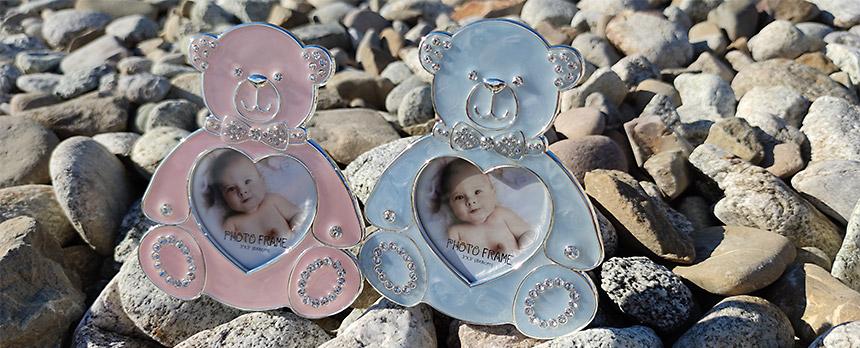 Detail na fotorámiky pre dievčatá a chlapcov