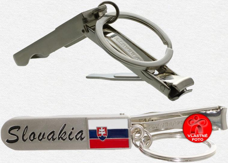 Detail na otvorený prívesok Slovakia