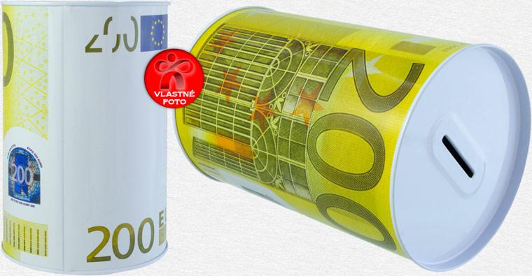 Detaily pokladničky 200 EUR