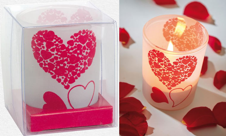 Darčekové balenie s romantickým detailom