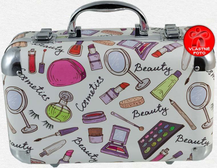 Veselý kozmetický kufrík zatvorený